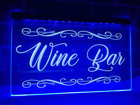 Image of Wine Bar Illuminated Sign