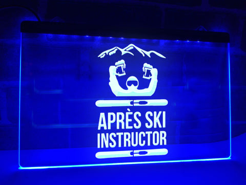 Image of Après Ski Instructor Illuminated Sign