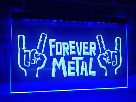 Image of Forever Metal Illuminated Sign
