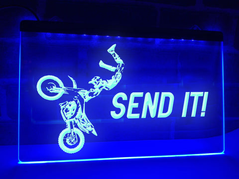 Send It Illuminated Sign