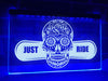 Just Ride Illuminated Sign