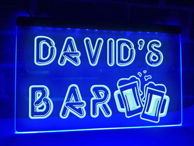 Your Bar Personalized Illuminated Sign