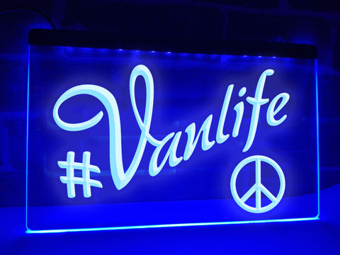 Vanlife Illuminated Sign