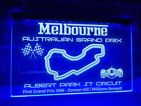 Image of Australian Grand Prix Illuminated Sign