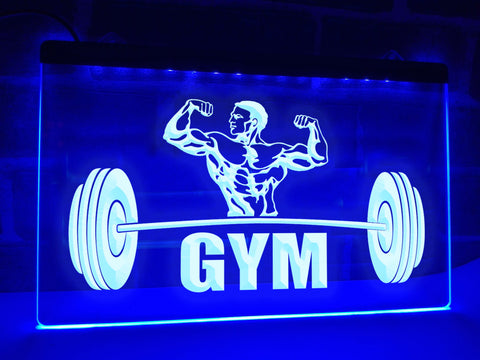 Image of Gym Illuminated Sign