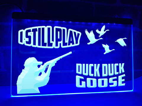 Image of Duck Duck Goose Illuminated Sign