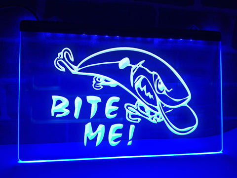 Bite Me Illuminated Sign