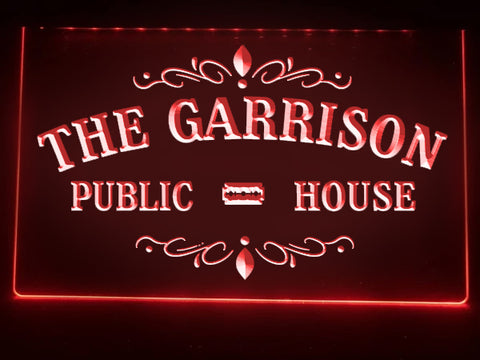 The Garrison Illuminated Sign