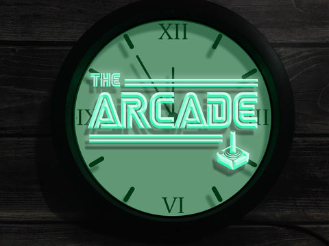 The Arcade Bluetooth Controlled Wall Clock