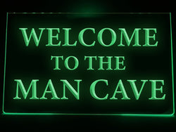 Man Cave Illuminated Sign