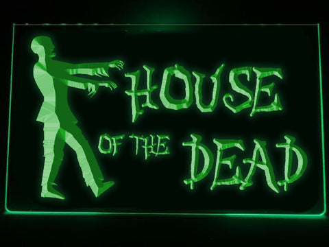 House of the Dead Illuminated LED Sign