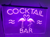 Flamingo Cocktail Bar Illuminated Sign