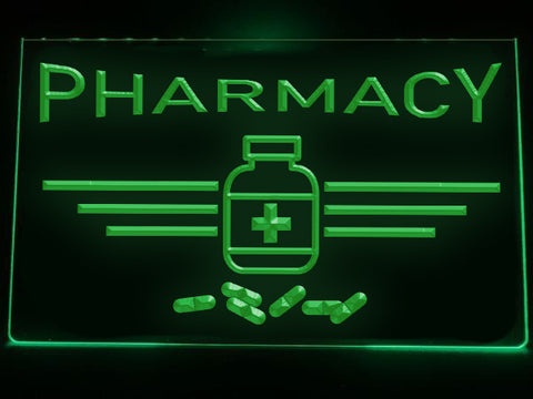 Pharmacy Medicine Illuminated Sign