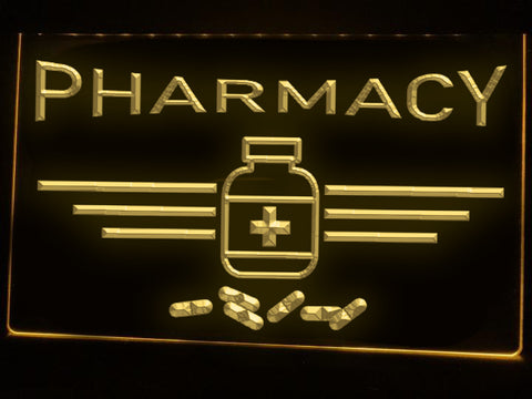 Image of Pharmacy Medicine Illuminated Sign