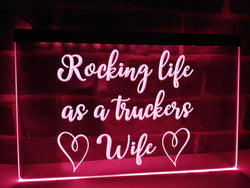 Rocking Wife Illuminated Sign