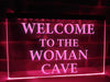 Woman Cave Illuminated Sign