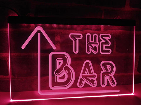 Image of The Bar Illuminated Sign