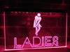 Ladies Restroom Illuminated Sign