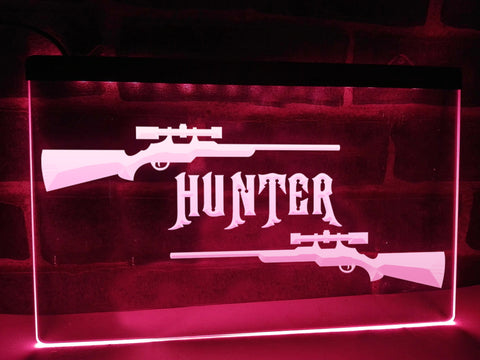 Hunter Illuminated Sign