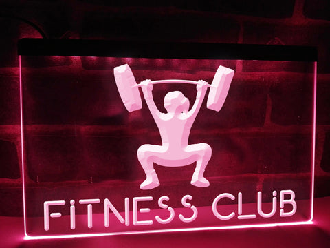 Image of Fitness Club Illuminated Sign
