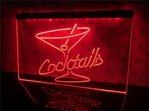 Image of Cocktails Illuminated Sign