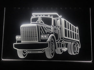 Dumper Truck Illuminated LED Sign