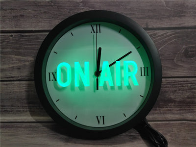 On Air Bluetooth Controlled Wall Clock