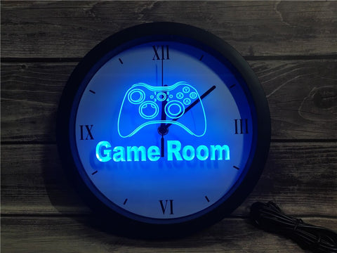 Game Room Bluetooth Controlled Wall Clock