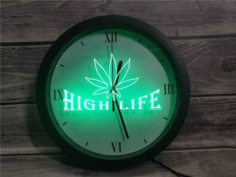 High Life Bluetooth Controlled Wall Clock