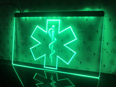 Image of Medical Services Illuminated Sign