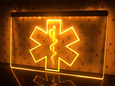 Medical Services Illuminated Sign