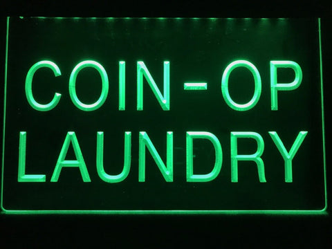 Image of Coin-op Laundry Illuminated Sign