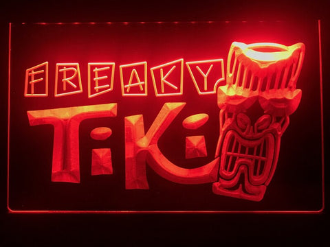 Image of Freaky Tiki Bar Illuminated LED Sign