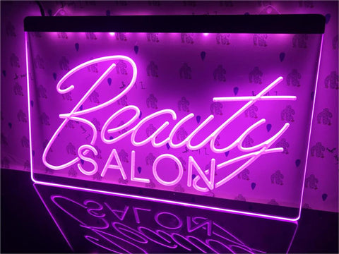 Beauty Salon Illuminated Sign
