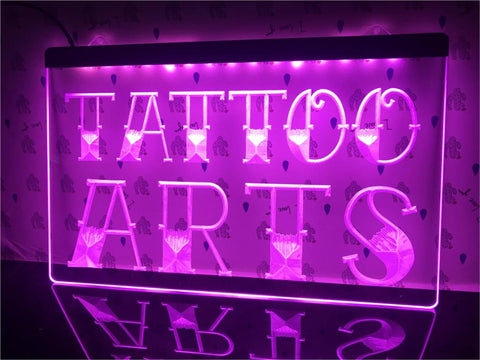 Image of Tattoo Arts Illumianted Sign