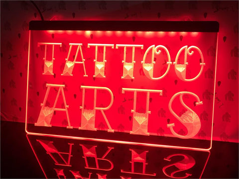 Tattoo Arts Illumianted Sign