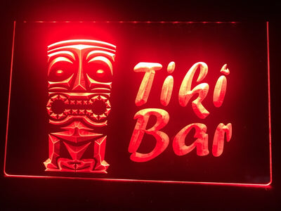 Tiki Bar Illuminated Sign