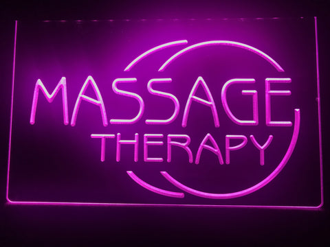 Image of Massage Therapy Illuminated Sign