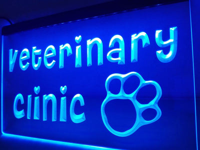 Veterinary Clinic Illuminated Sign