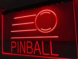 Pinball Illuminated Sign