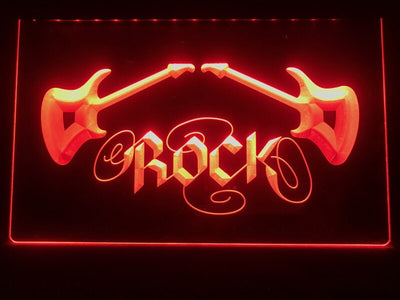 Rock n Roll Illuminated Sign
