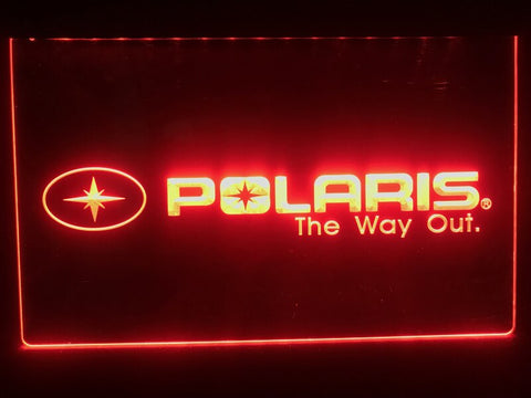 Polaris Illuminated Sign