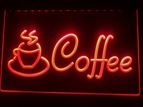 Coffee Cup Illuminated Sign