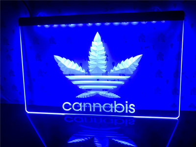 High Leaf Illuminated LED Sign