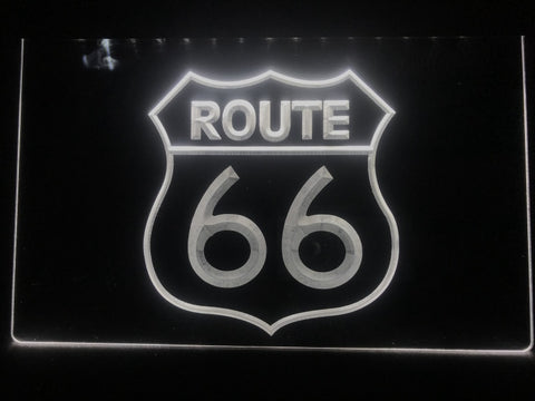 Image of Route 66 Illuminated Sign