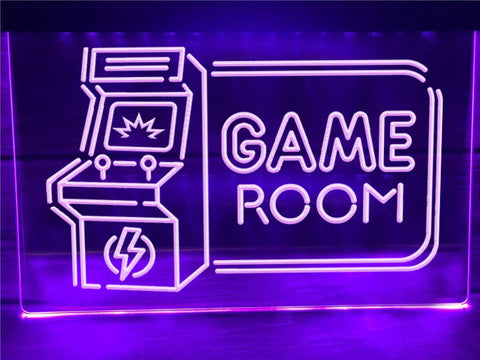 Image of Arcade Game Room Illuminated Sign