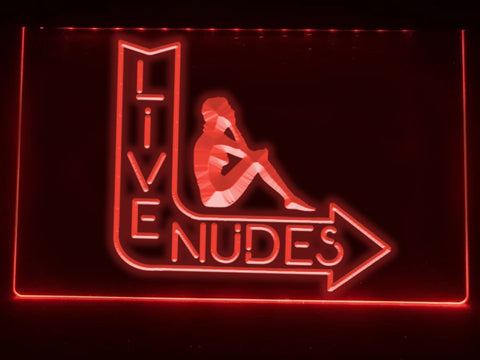 Live Nudes Illuminated Sign