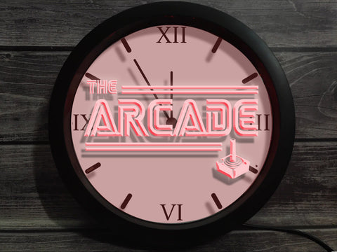 Image of The Arcade Bluetooth Controlled Wall Clock