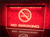 No Smoking Illuminated Sign
