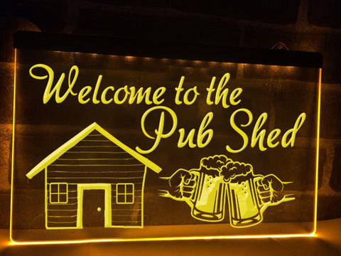 Image of Pub Shed Illuminated Sign
